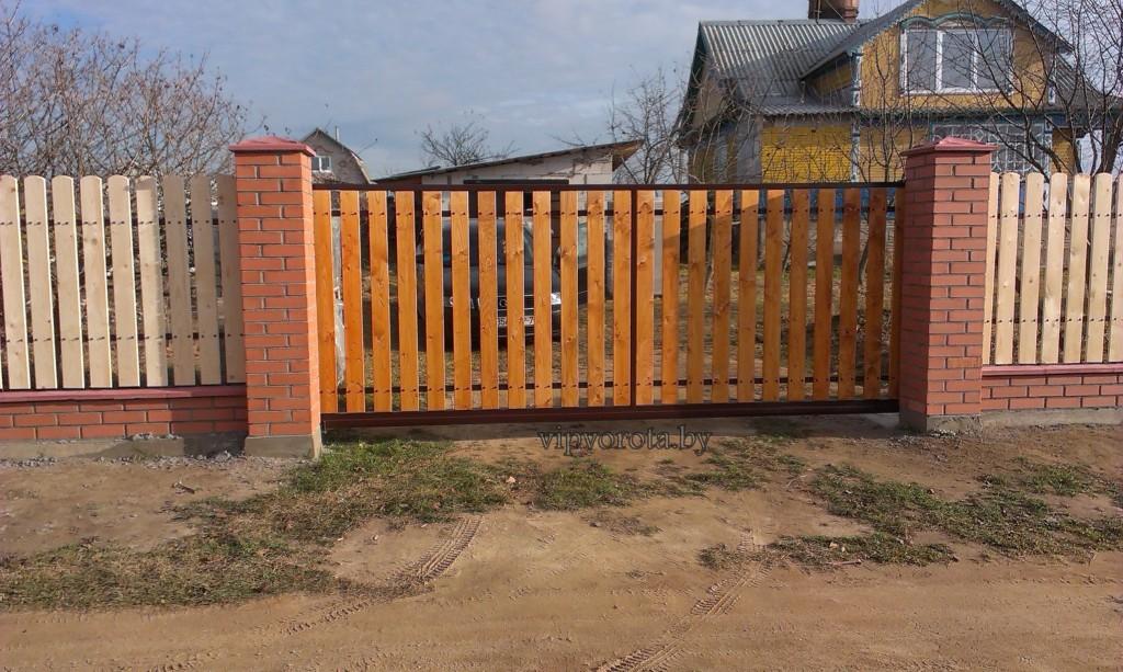 Ворота откатные купить в Минске