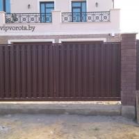 Откатные ворота Минск цена