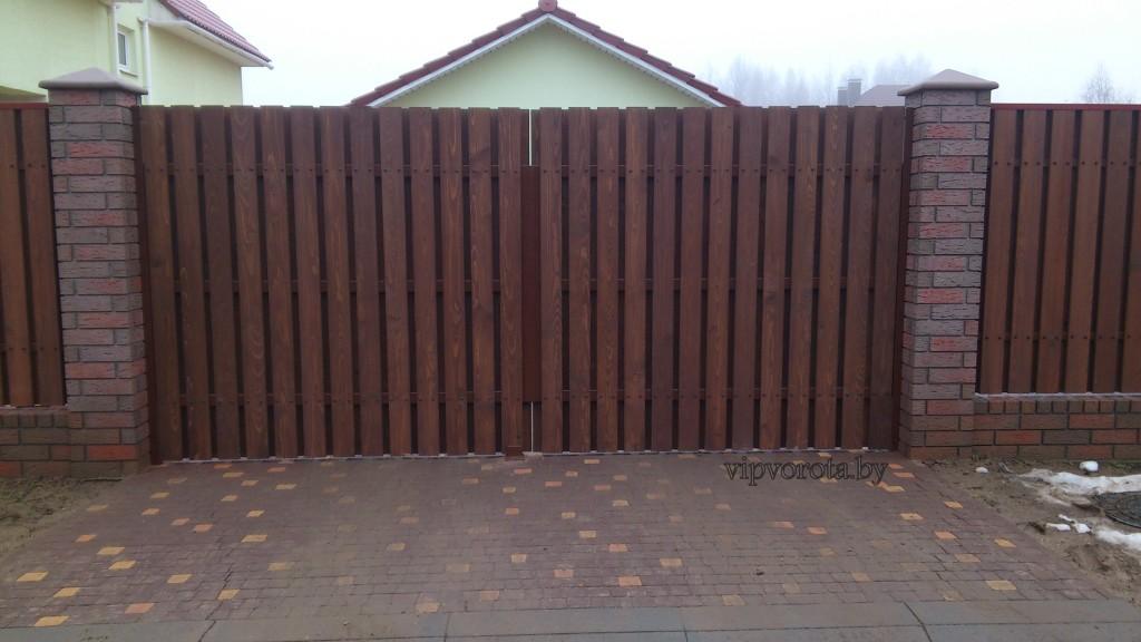 Распашные ворота купить в Минске