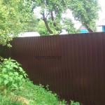 забор из профнастила Минск