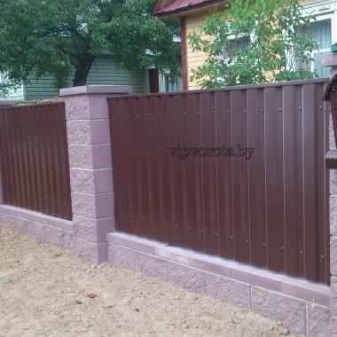 забор из бессера в Минске