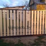 откатные ворота в Минске цена