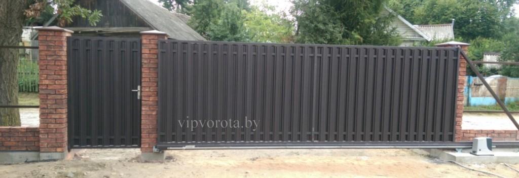 откатные ворота Минск