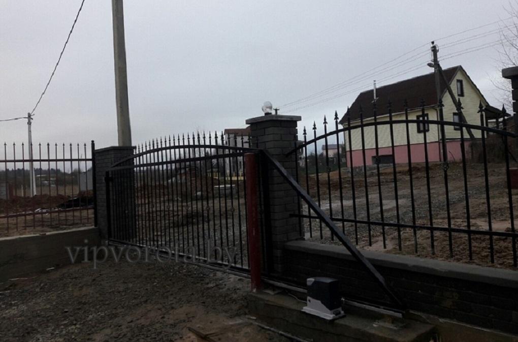откатные ворота купить Минск