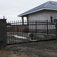 откатные ворота в Минске