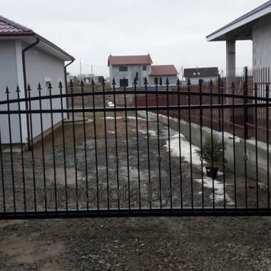 откатные ворота в Минске.